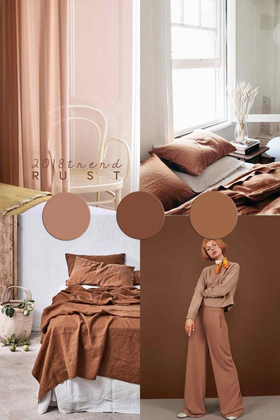 INTERIOR COLOR TRENDS | Rust is the color everybody loves now