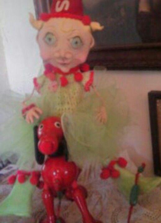Art Doll, Trash To Treasure...Lazy Man's Rest