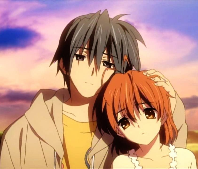 clannad tomoya and nagisa kiss episode
