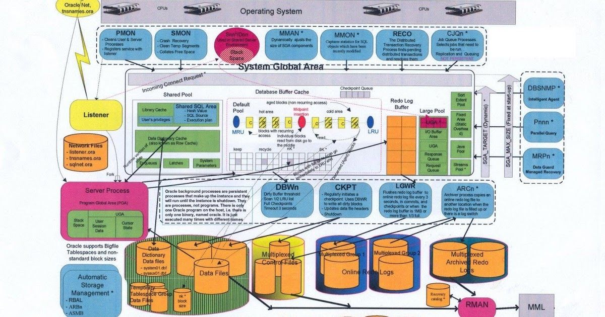 Oracle Database 11g Architecture Diagram With Explanation Melex Golf Cart Wiring Is An Rdbms Relational Management System The Can Be Described In Terms Of Logical And Phys