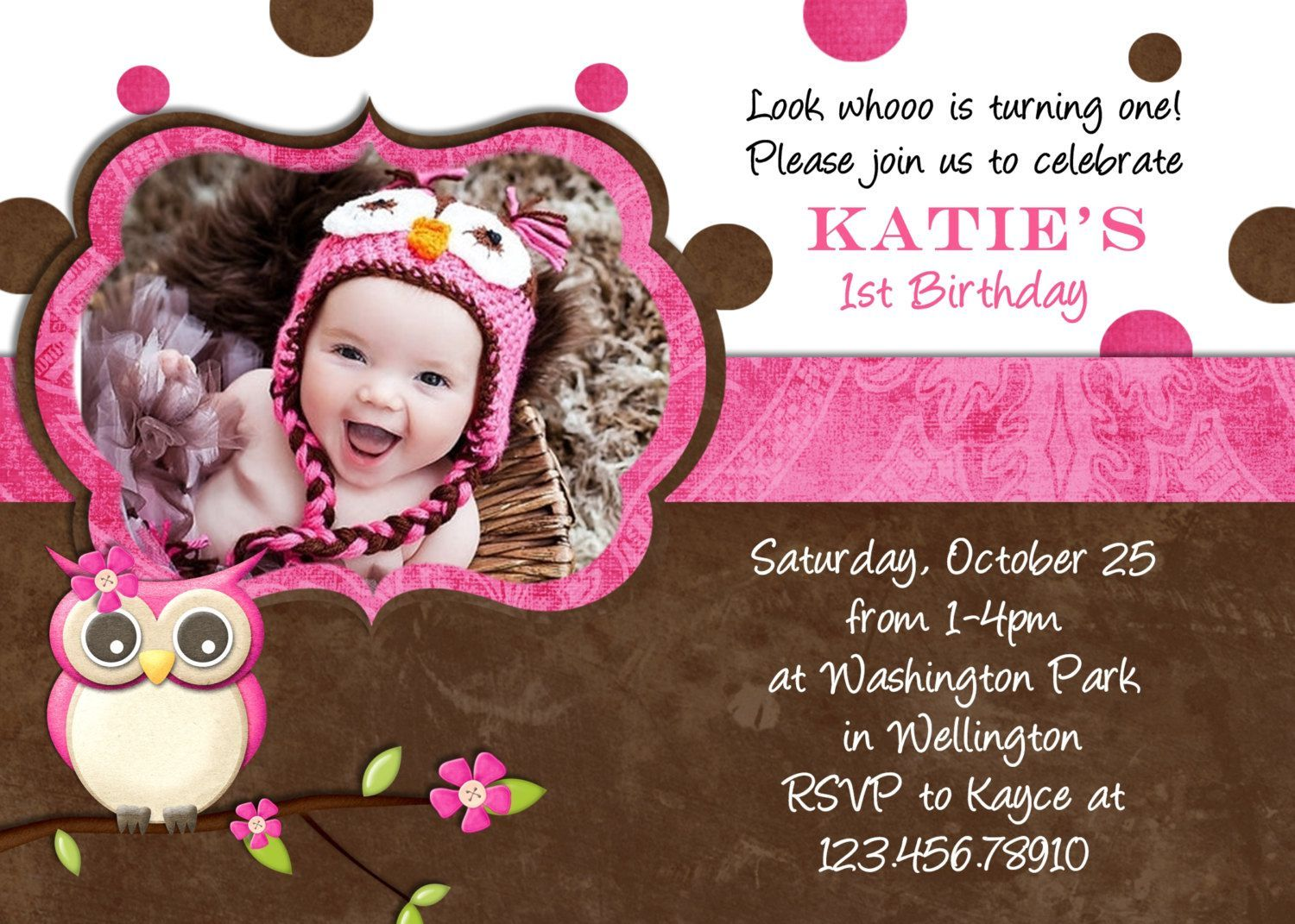 cheap photo card invites | birthday invitations template | Pinterest ...