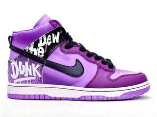 timeless design ade49 795c3 Nike Dunk High Tops do the dew purple by future Soles, via Flickr