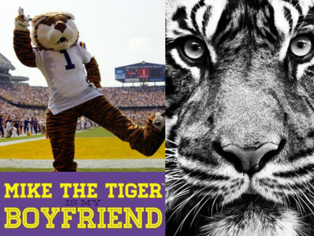 Mike The Tiger Is My Boyfriend Storyville Tshirt Lsu Geaux Tigers