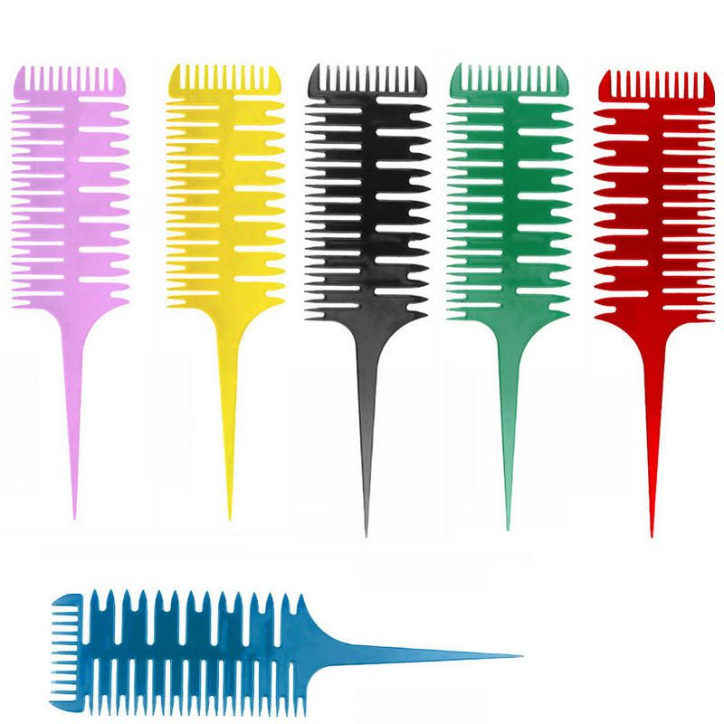 Us507 Hair Dyeing Sectioning Highlighting Comb Pointed Tail Brush