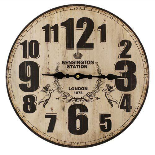 British Design Wall Art Clocks