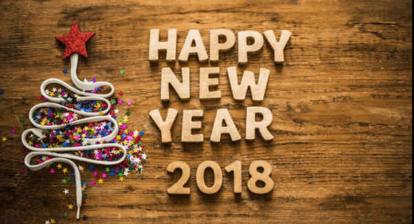 image result for new years wishes 2018