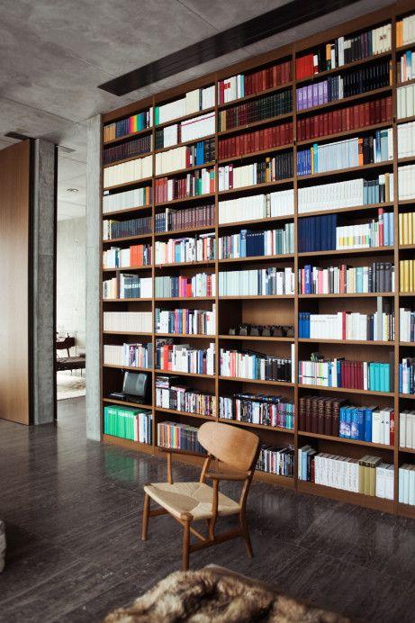 Karen \ Christian Boros Bibliothek, Berlin mitte und Freunde von - ideen bibliothek zu hause gestalten