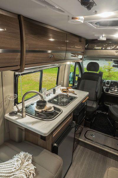 Travato | Interior | Galley | Winnebago RVs