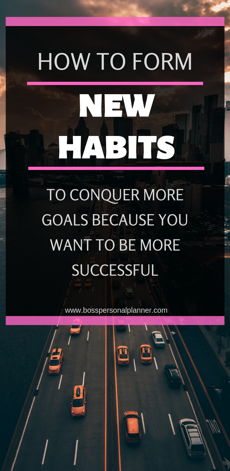 """Forming a new habit is as difficult as quitting a bad one. The word """"forming"""" means everything here because everyone can start a new habit but not everyone can stick to it. When you set goals though, it's critical to create new habits that will help you reach those goals. No matter what your goal is, here's how you can form a new habit that will help you achieve it faster."""