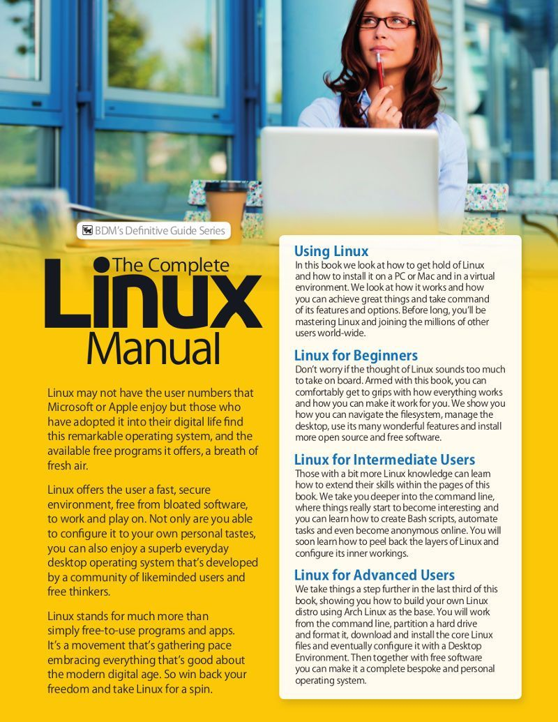 The Linux Manual Vol 30 Linux Manual Guide Book