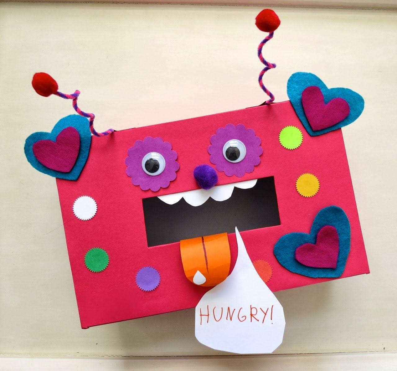 Valentine Shoe Box Decorating Ideas mmmcrafts shoebox valentine exchange Valentine's Day 1