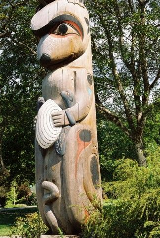 Joy Kennedy ONeil Otter Totem Pole