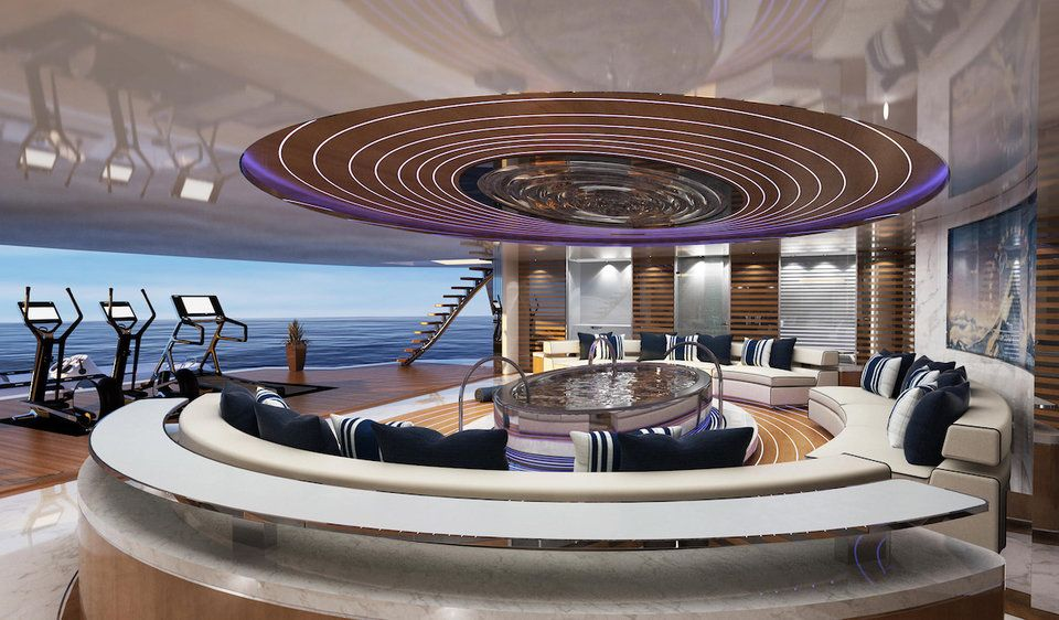 Inside A 200 Million Private Mega Yacht Complete With Glass