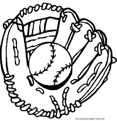 Baseball And Glove Color Page Ball Color Page Sports Coloring Pages Color Plate Colori Baseball Coloring Pages Sports Coloring Pages Coloring Pages For Boys