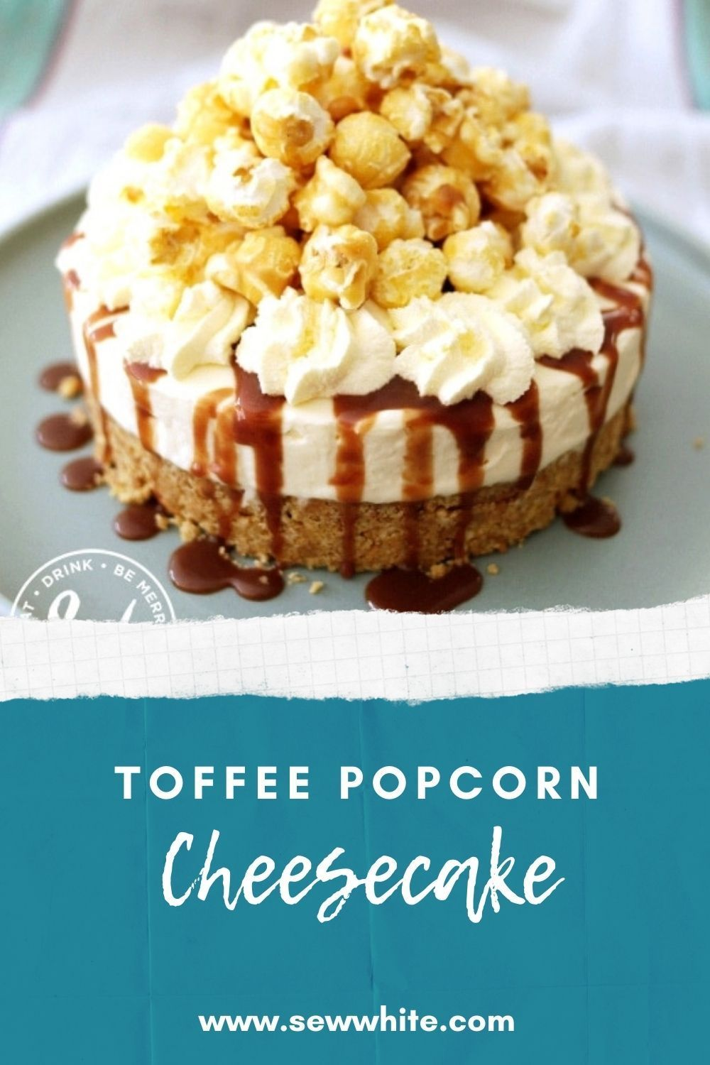 Photo of Toffee Popcorn Cheesecake