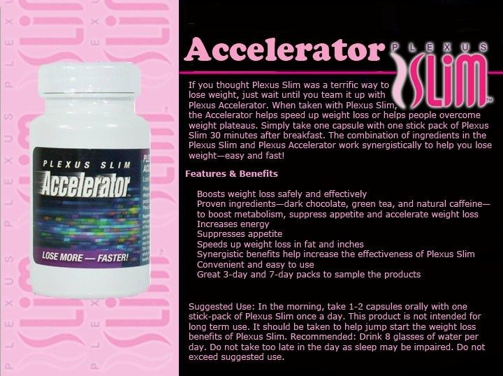 Works with the Plexus Slim to help speed up the weight loss process.