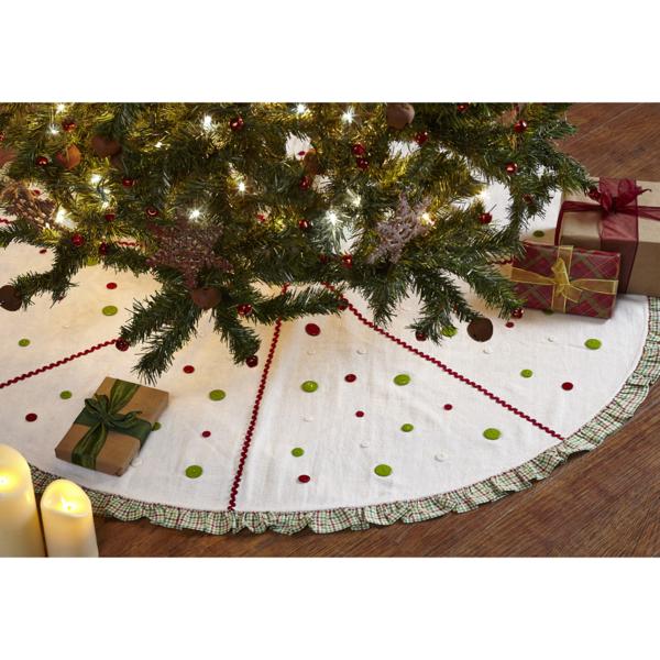 Whimsical Christmas Trees Ideas: Whimsical Christmas Tree Skirt