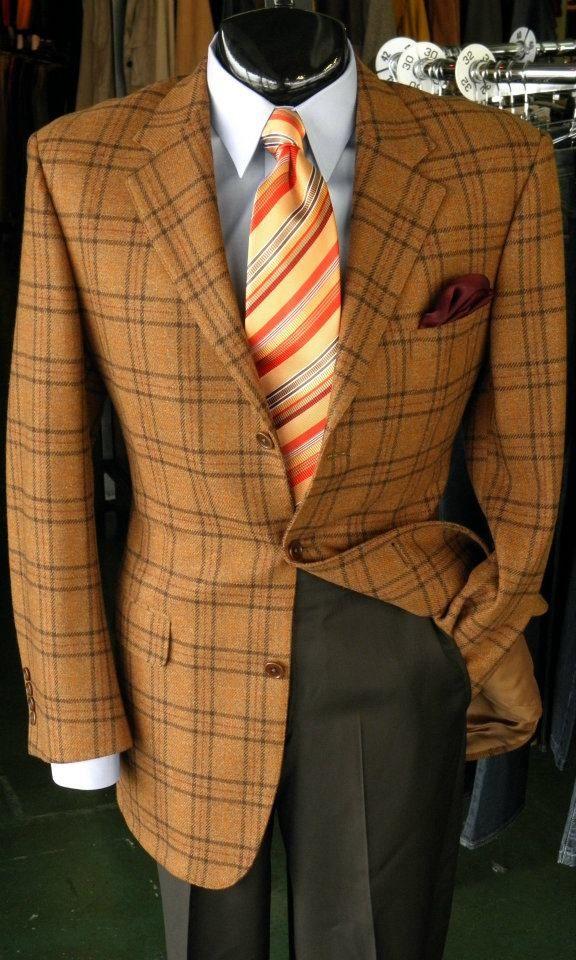 Sport Coat By Brooks Brothers 42l Shirt By Jos A Bank 16 34 Slacks By Bernard Zins 32 Tie