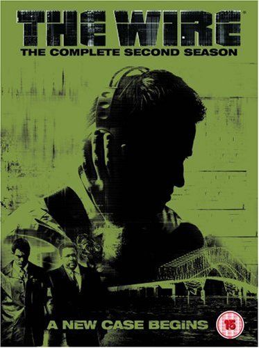 The Wire Season 2 Dvd Hbo The Wire Tv Series Second Season