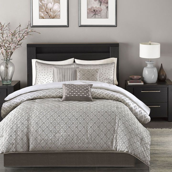 Madison Park Pensacola 7-pc. Jacquard Comforter Set | Pinterest
