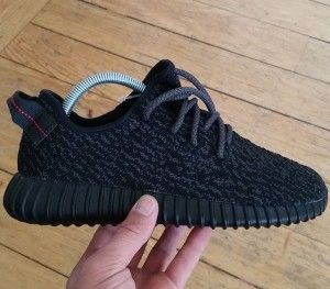 Yeezy boost black sneakers women girls shop online buy