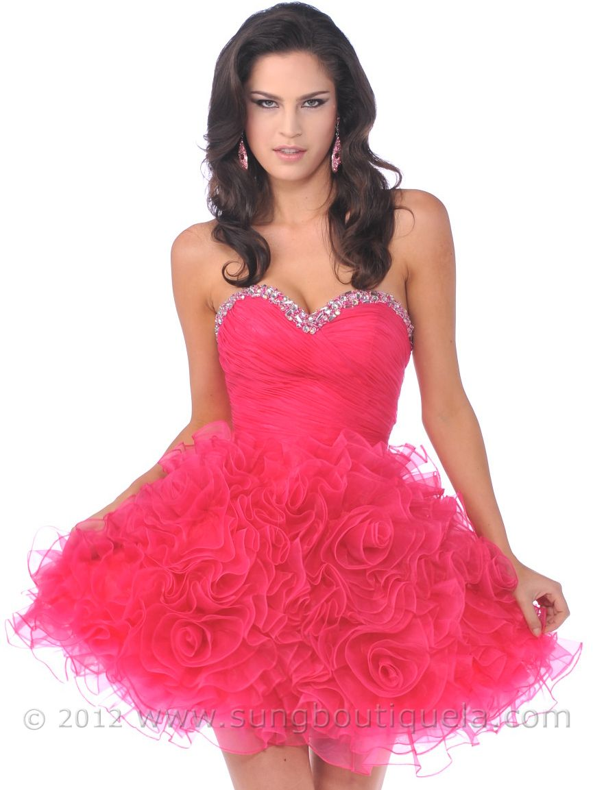 78  images about Prom Dresses on Pinterest - Pink ball gowns ...