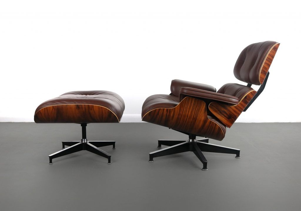Authentic Ray And Charles Eames Lounge Chair And Ottoman For Herman Miller Usa Abt Modern Eames Lounge Chair Chair And Ottoman Charles Eames Lounge Chair