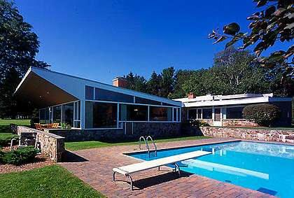 The Preston Robinson House Marcel Breuer 1948 With Images