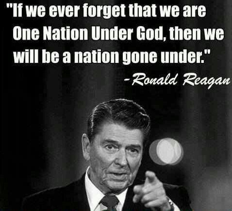 Love this Ronald Reagan quote, which I first heard from