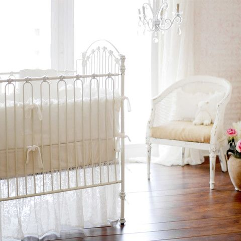 Velvet Baby In Ivory Bedding Set