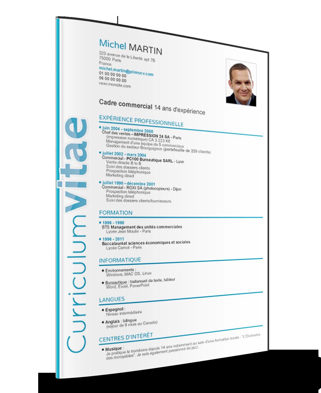 Plantillas de Curriculum Vitae en word gratis Parte IV