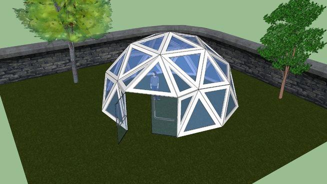 Geodätischen Kuppel gartenhaus geodätische kuppel 3d warehouse geodesic dome