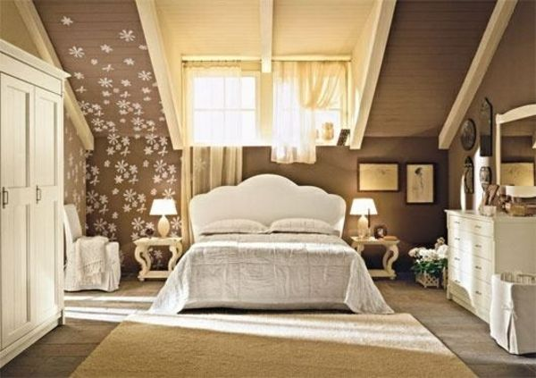 einrichtungsideen jugendzimmer dachschräge bett dekoration schrank - einrichtungsideen schlafzimmer mit dachschräge