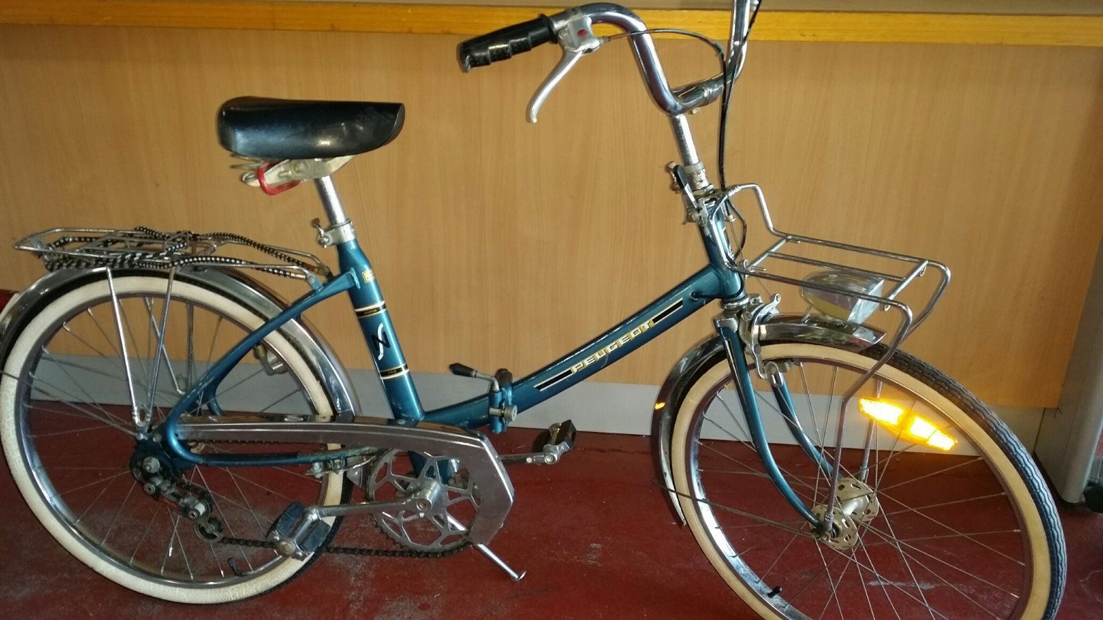 Peugeot Vintage Folding Bike in Sporting Goods, Cycling