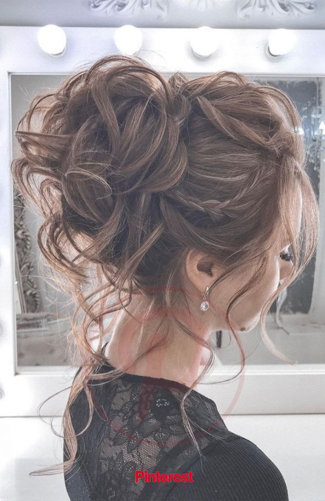 44 Messy updo hairstyles - The most romantic updo to get an elegant look | Chic hairstyles, Messy hairstyles, Summer wedding hairstyles #nails,#nailar