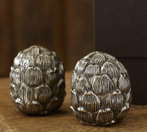 Artichoke Salt & Pepper Set | Pottery Barn