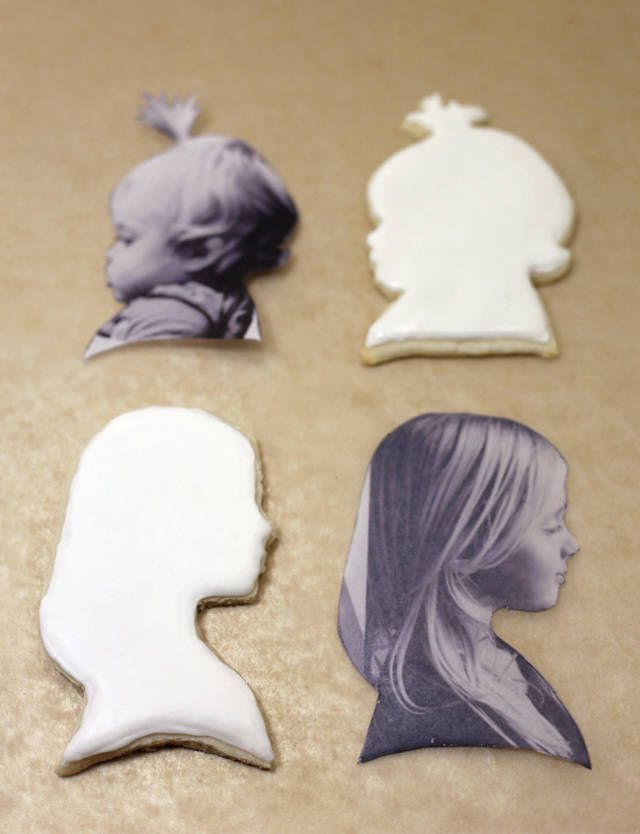DIY Silhouette Cookies   Whimseybox