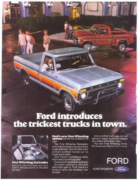 Different Stripe Kits Threw The Years Ford Truck Enthusiasts