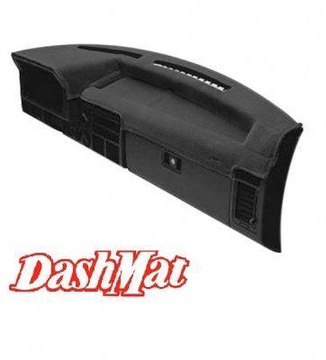 DashMat VelourMat Dashboard Cover Dodge Ram Plush Velour, Black
