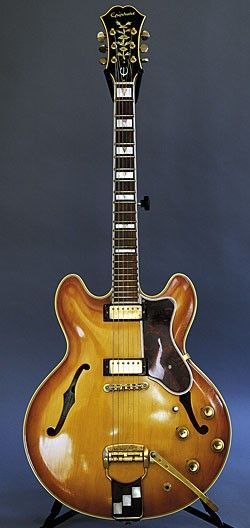 Arlen Roth: An exquisite Epiphone Sheraton, 1964 or '65, with mini humbuckers, which I think were the greatest pickups Gibson ever made. I wanted one of these ever since I hung around with Amos Garrett in Woodstock.