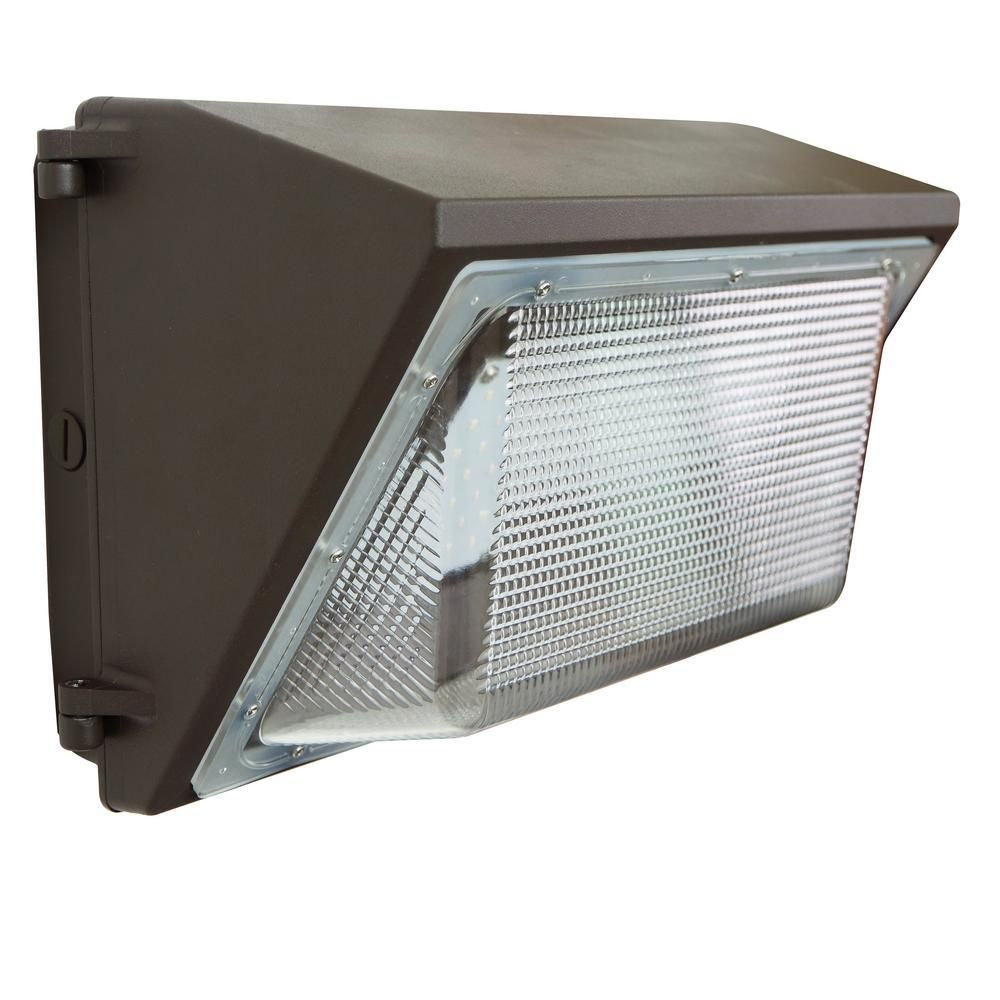 J H Led 100 Watt Integrated Led Bronze Outdoor Industrial Grade Wall Pack Light Jh Rwp100w 27r Led Outdoor Wall Lighting Outdoor