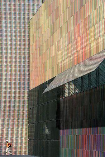Sauerbruch Hutton Brandhorst Museum Installation Architecture Colour Architecture Architectural Inspiration