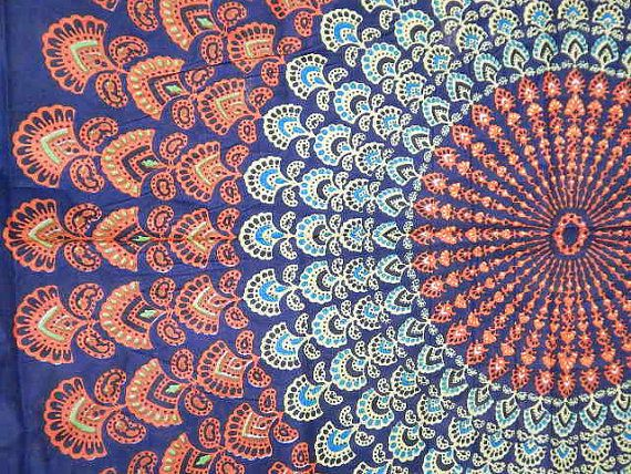 Mandala Tapestry Tapestries, Indian Tapestry, Hippie Tapestry ...