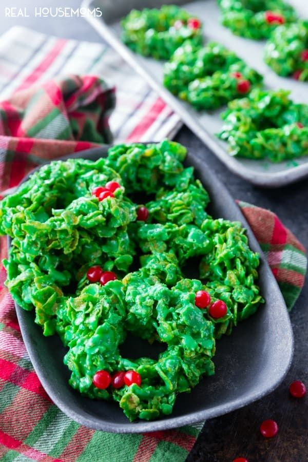 Christmas Wreath Cookies.Christmas Wreath Cookies Are A Festive Fun And Tasty