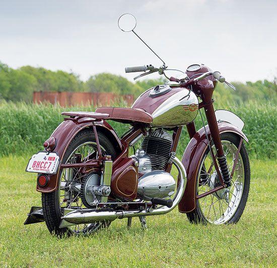Iron Curtain Artistry 1954 Jawa 250 Perak More Classic