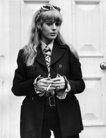 Style Icon - Marianne Faithfull