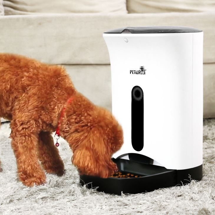 Newest remote control wifi feeder smart automatic app pet