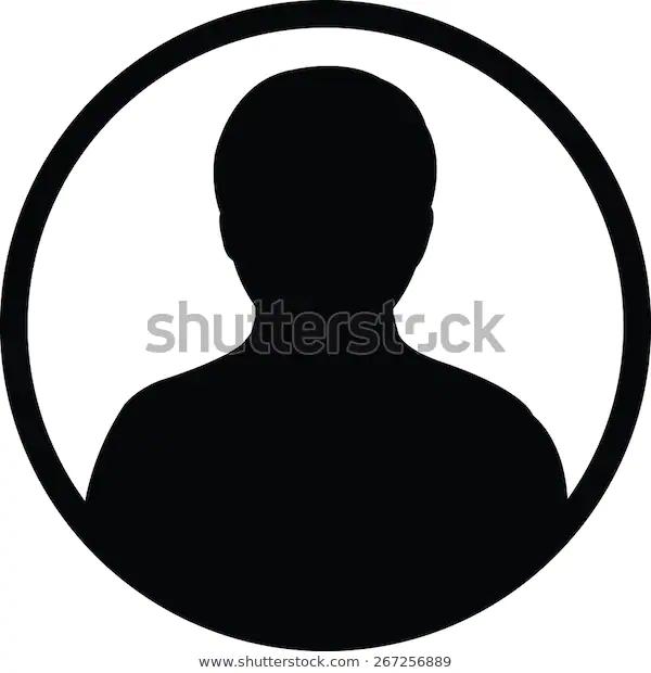 User Icon Vector Male Person Symbol Stock Vector Royalty Free 267256889 Icon Vector Stock Vector