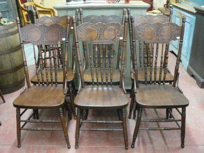 Ensemble De 12 Chaises Pressback De Style 1 Chaise Style Ensemble