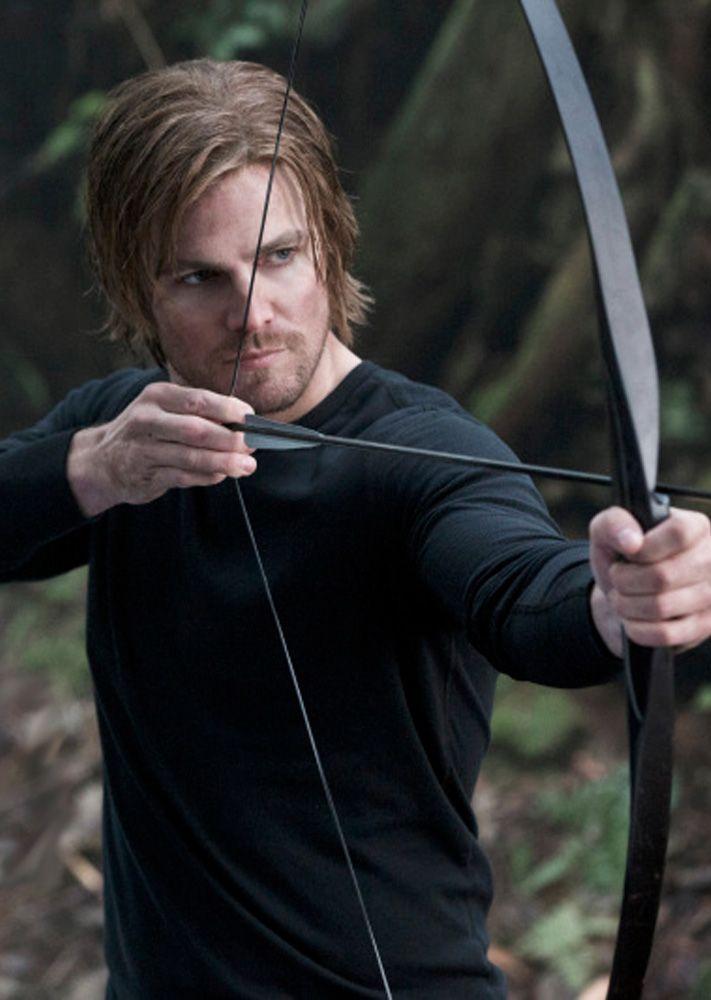 Arrow Oliver Queen On The Island Aquaman Arqueiro Verde Super Heroi